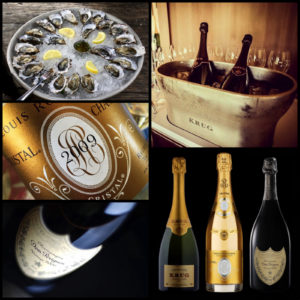 Champagne, Oysters, Fine Wine