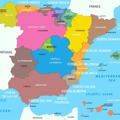 the-different-regions-of-spain-map
