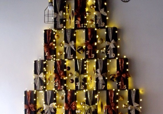 is this manchester s biggest advent calendar salut wines. Black Bedroom Furniture Sets. Home Design Ideas